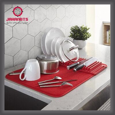 مشخصات خرید و قیمت نمگیر استند دار حوله ای ظروف کنار سینک