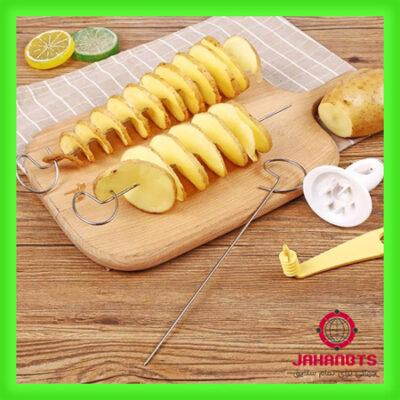 خرید پستی و قیمت اسلایسر و فرچیپس سیب زمینی Potato Spiral Cutter