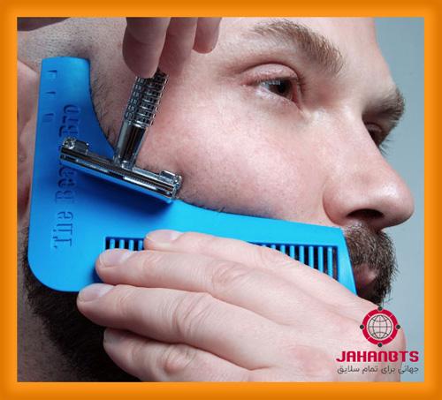شانه اصلاح ریش 2 عددی مدل beard bro comb