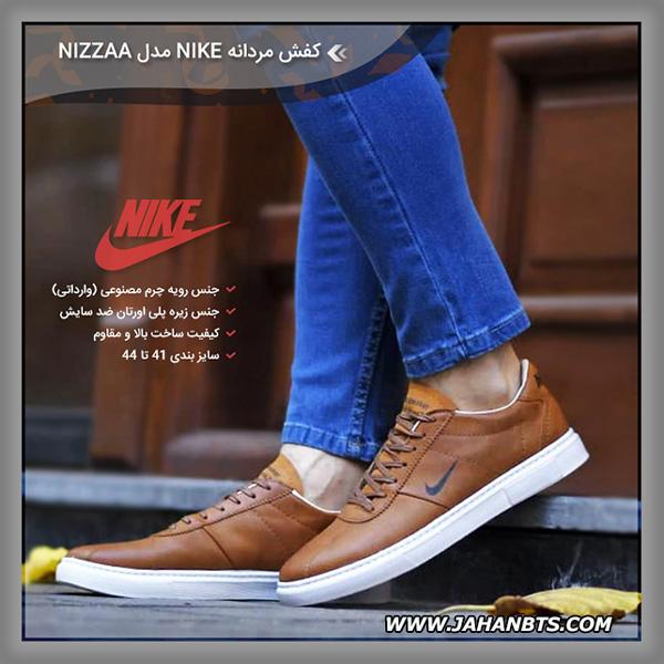 مشخصات خرید و قیمت کفش چرم مردانه نایک مدل Nizzaa