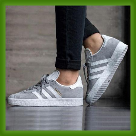 خرید اینترنتی کفش راحتی مردانه adidas مدل Gazelle Gray