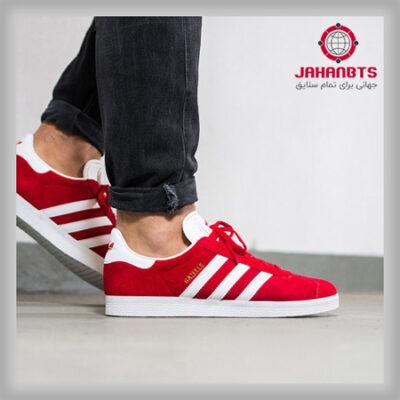 مشخصات، خرید و قیمت کفش راحتی مردانه آدیداس Gazelle قرمز