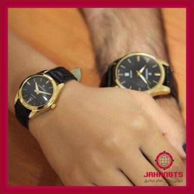 قیمت خرید ارزان ست ساعت مچی زنانه و مردانه رومانسون مدل Sapphire