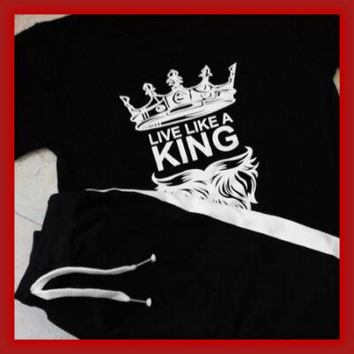 قیمت و خرید پستی ست تیشرت و شلوار مردانه King