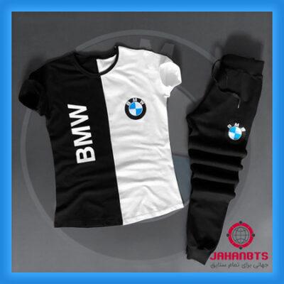قیمت و خرید پستی ست تیشرت و شلوار مردانه BMW