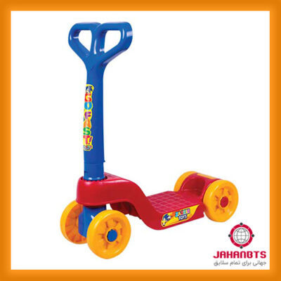 مشخصات و قیمت خرید اسکوتر کودک چهار چرخ پلاستیکی مدل Go Fast