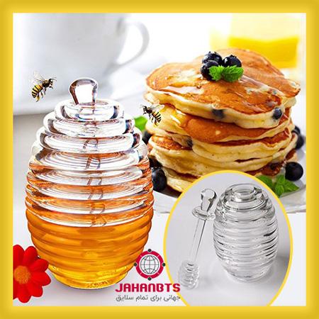 مشخصات و قیمت خرید ظرف عسل خوری اکریلیک طرح کندو