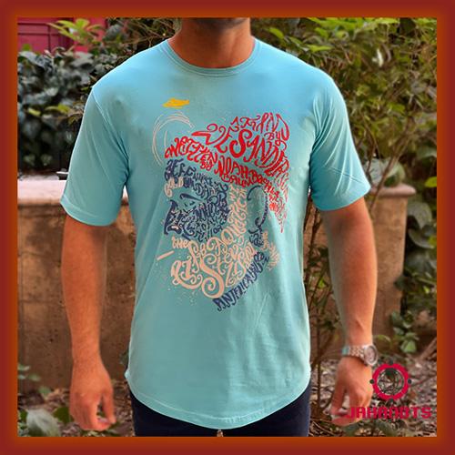 قیمت خرید پستی تیشرت آستین کوتاه مردانه طرح آنجل