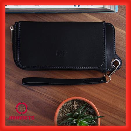 مشخصات و قیمت خرید کیف پول و موبایل چرم Milano