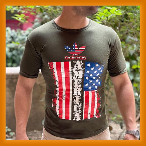 مشخصات و قیمت خرید تیشرت آستین کوتاه مردانه نخی