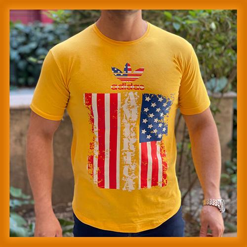قیمت و خرید اینترنتی تی شرت مردانه یقه گرد نخی آدیداس