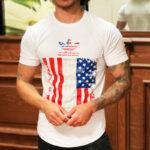 تیشرت آستین کوتاه مردانه آدیداس طرح پرچم USA