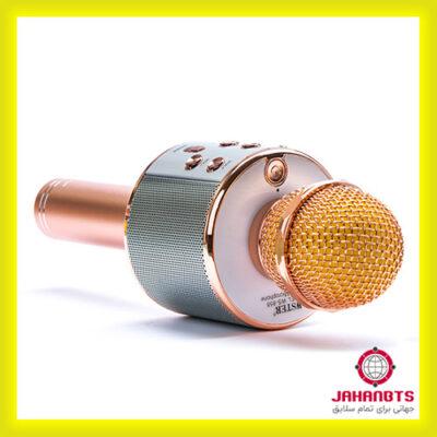 قیمت و خرید پستی میکروفون اسپیکر بلوتوثی WSTER مدل WS-858